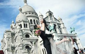 【巴黎图片】两个吃货的巴黎婚纱之旅!