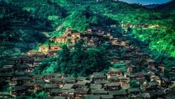 黔东南景点-西江千户苗寨(Xijiang Miao Village)