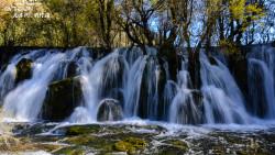 九寨沟景点-箭竹海瀑布