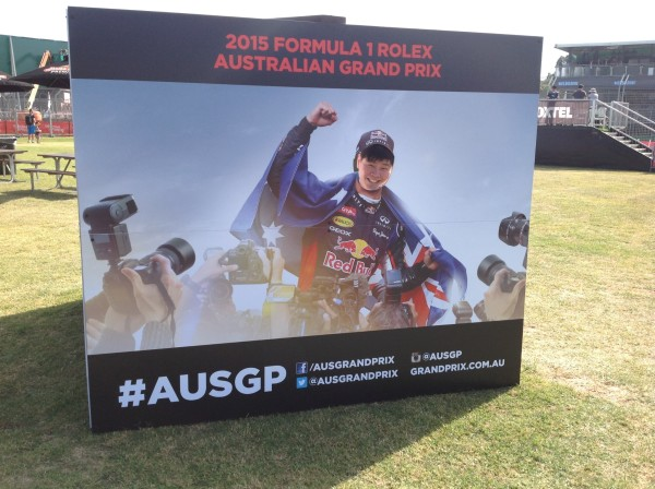 F1追梦之旅第一站 澳大利亚