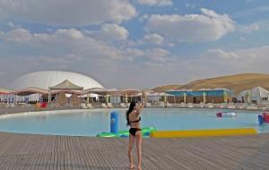 【鄂尔多斯图片】库布齐沙漠非自驾自由行双语版holiday@china desert with pool !