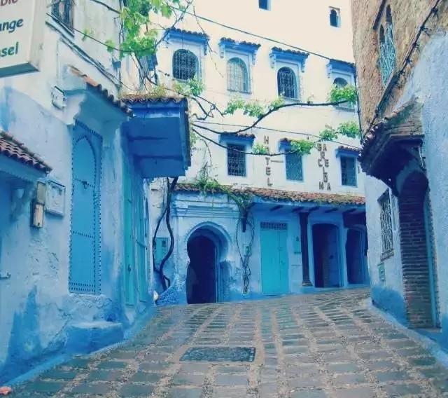 藍色房子圖片大全