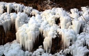 【保定图片】城里有霾山里有冰瀑—【保定满城赏冰瀑】