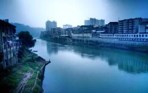 【怀化图片】褪去繁华烟雨巷  斑驳落寞洪江城
