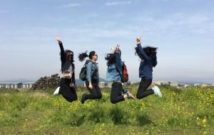 【釜山图片】#在韓國玩出  花 # 如花美眷 逝水流年。