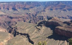 【科罗拉多大峡谷图片】美国自驾游记系列(二)七.科罗拉多大峡谷之壮观与震撼