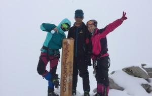 【哈巴雪山图片】近15年唯一恶劣天气成功登顶哈巴雪山案例实录攻略!香格里拉哈巴雪山5396米一次搞定!