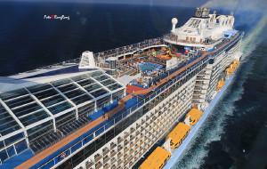 【长崎图片】【皇家加勒比海洋赞礼号邮轮体验 超全干货】看海天一色 听风起云落