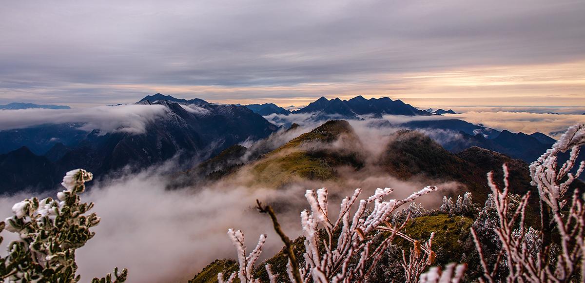 八台山风景区现在下雪没有