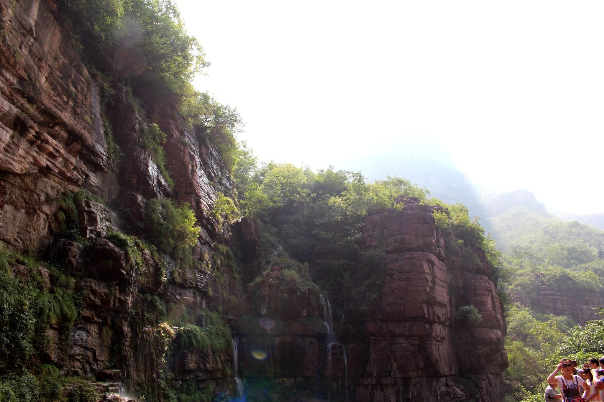河南焦作云台山(2016年6月)