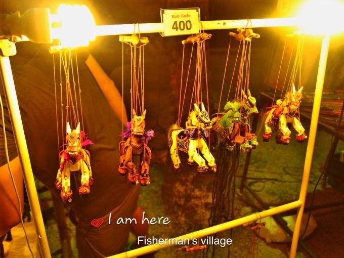 苏梅岛渔人村夜市