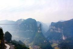 湘西矮寨大桥,古朴苗寨