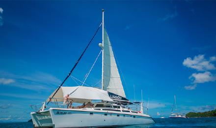 泰国普吉岛 皇帝岛珊瑚岛豪华双体帆船一日游