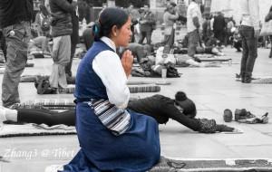 【巴松措图片】自带阳光的我们 做了一场难以置信的西藏梦#十日西藏#