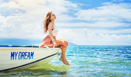 【双岛行程】马来西亚沙巴沙比岛马努干岛双岛一日游