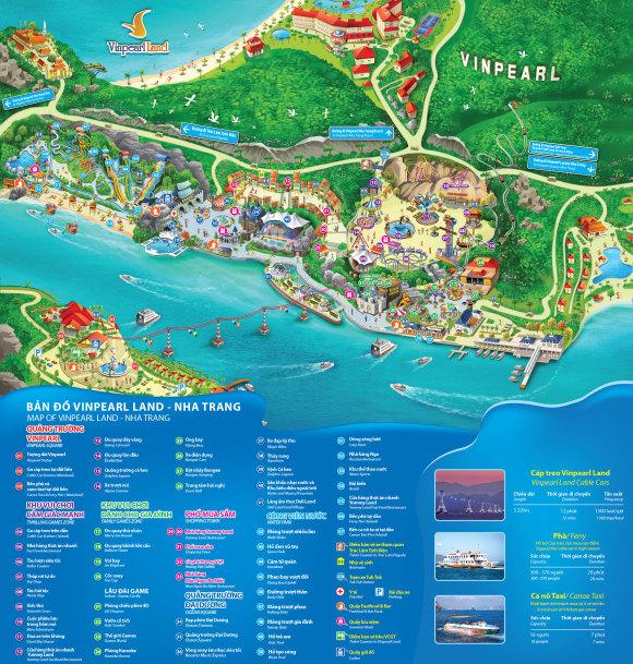 【亲子时光】越南 芽庄 珍珠岛游乐园门票 跨海缆车