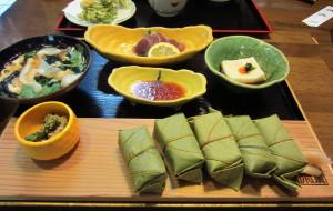 奈良美食-平宗柿叶寿司