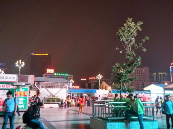 云南大学乘1路车抵北京路