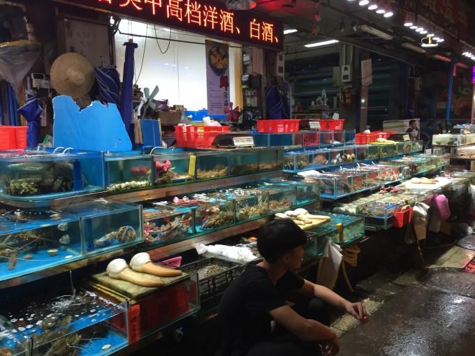 广州水产市场_广州黄沙水产市场在哪里?海鲜便宜吗
