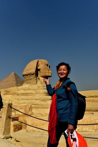 埃及 游记    胡夫金字塔