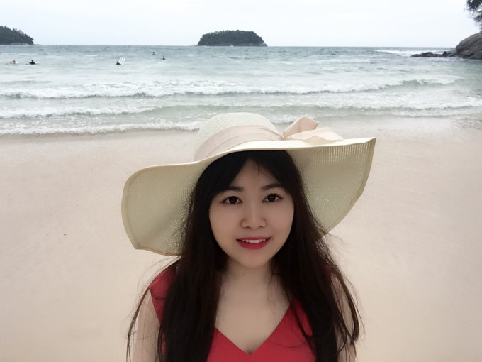 橙光素材背景海边