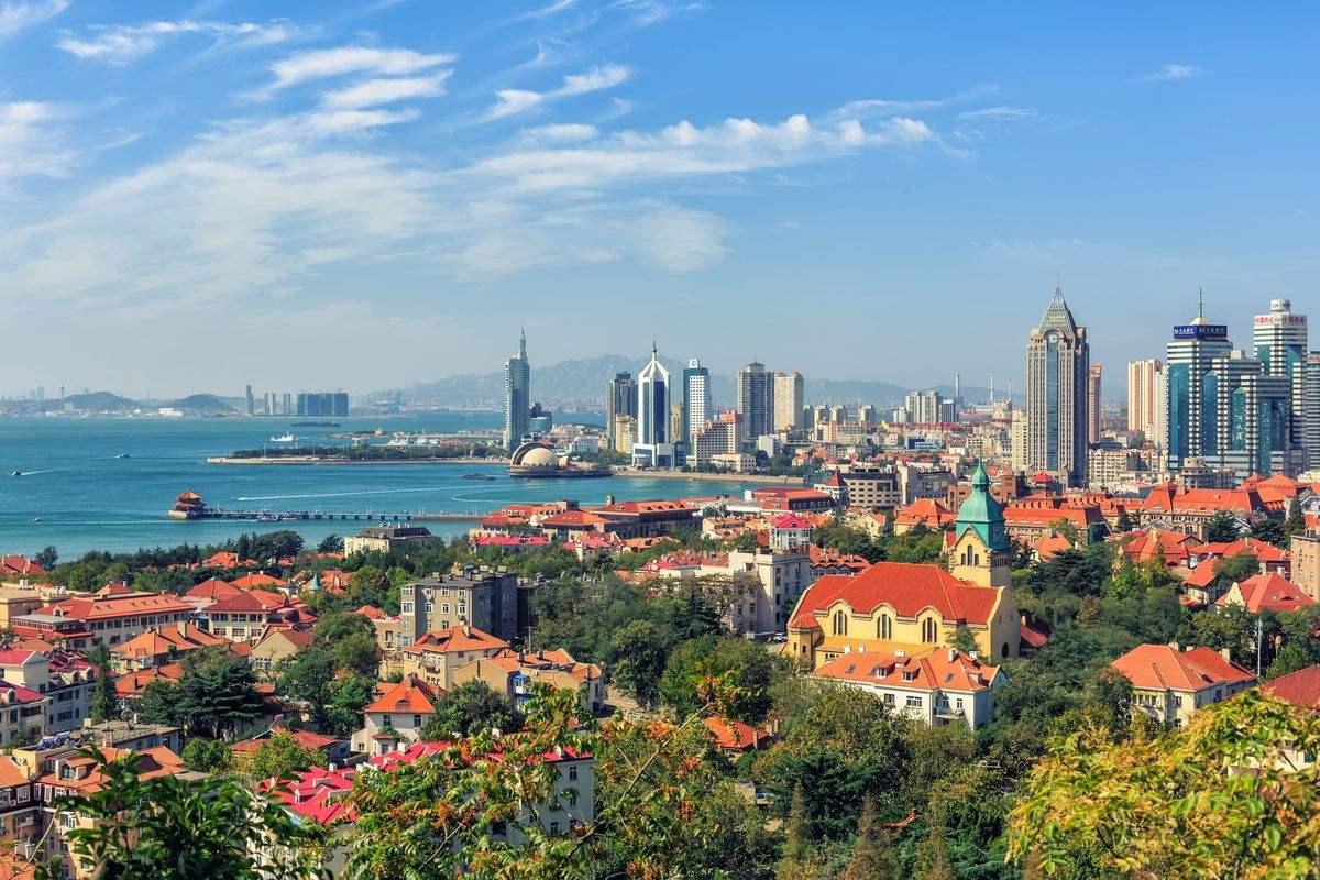 青岛位于上海哪个方向 青岛位于中国哪个方向