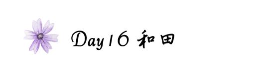 Day16和田