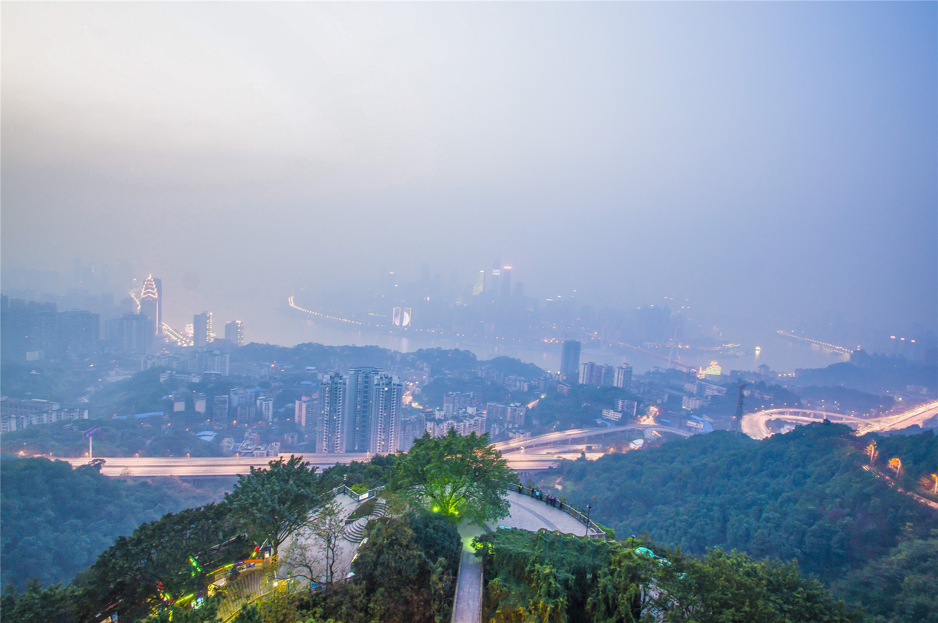 ChongQing Nanshan Tree Viewing Platform