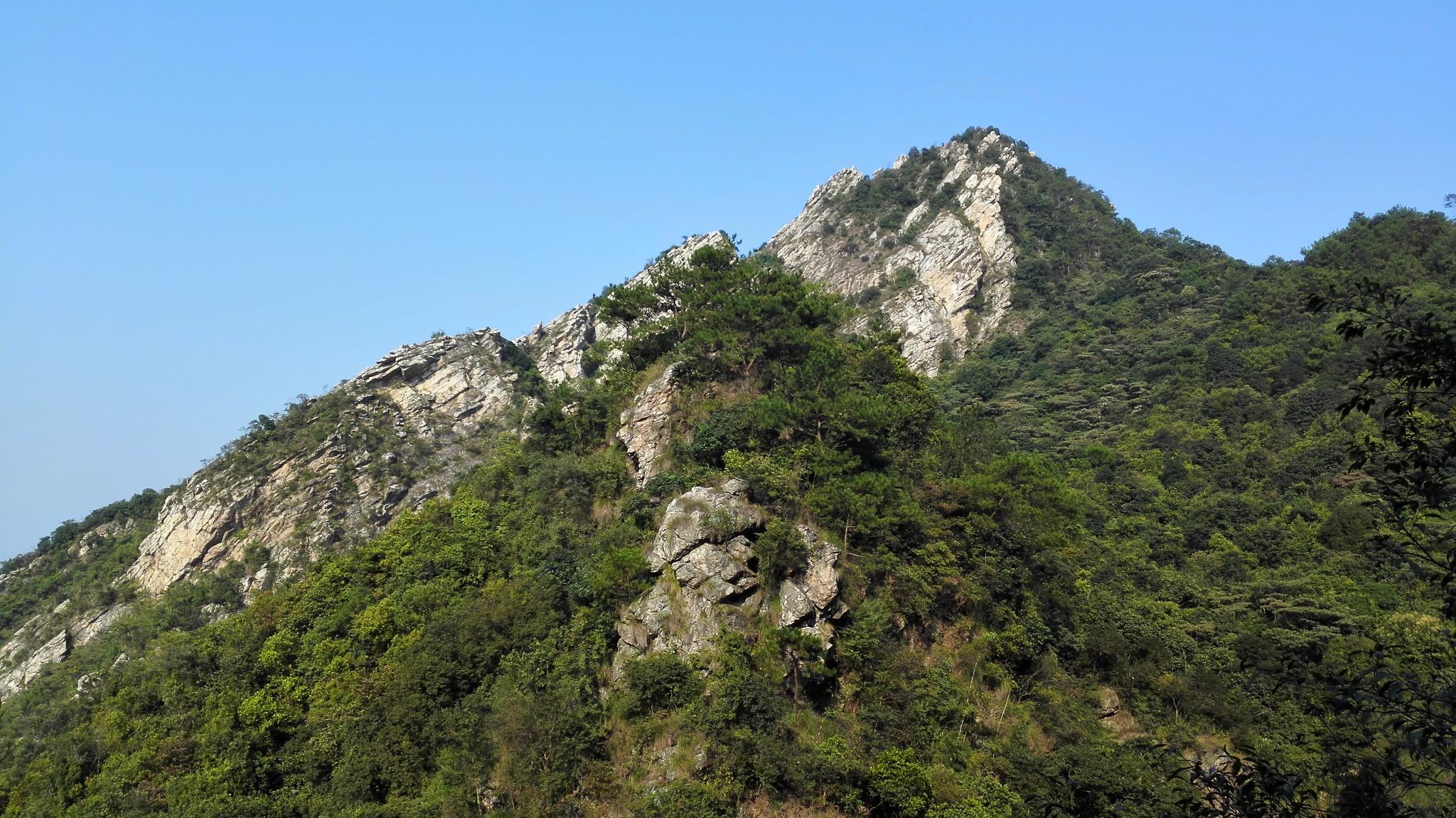 清远阿婆田,那山和水是多么的壮观